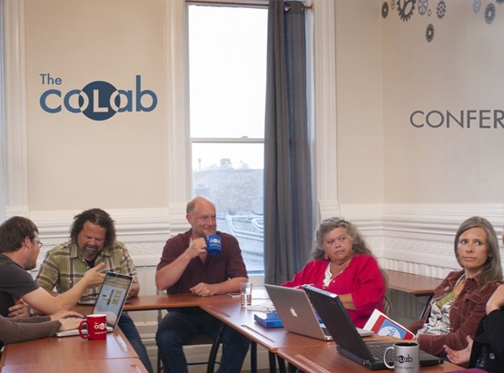 Conference Room at the Port Townsend CoLab